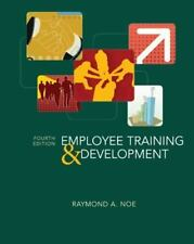 Employee Training and Development by Raymond A. Noe 2006 Paperback 4th Edition