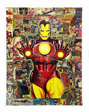 Legacy: Iron Man Marvel LE Giclee on Canvas Signed By Randy Martinez
