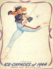Ice Capades of 1944 Souvenir Program - Victory Theme with Ice Star Donna Atwood
