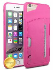 Leather Wallet Card Slot Holder Case Shockproof Phone Cover For iPhone 6 6S 4.7""