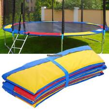 10/12/14/15FT Trampoline Safety Pad, Round Frame Pad Cover Replacement New