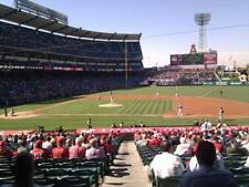 2 TICKETS HOUSTON ASTROS @ LA ANGELS 5/15 *TERRACE MVP 223 FRONT ROW*
