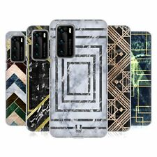HEAD CASE DESIGNS GEOMETRIC MARBLE HARD BACK CASE FOR HUAWEI PHONES 1