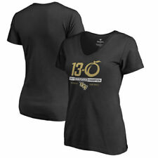UCF Knights Fanatics Branded Women's Undefeated Slim Fit V-Neck T-Shirt - Black