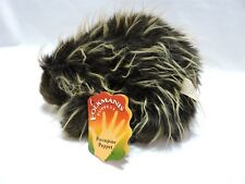 Folkmanis Porcupine Hand Puppet Plush Stuffed Animal Toy Pretend Play 9""