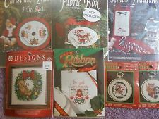 CHOOSE ONE: DESIGNS FOR THE NEEDLE COUNTED CROSS STITCH KITS CHRISTMAS