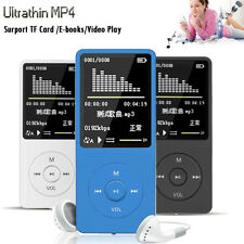 Playback MP3 MP4 Lossless Hi-Fi Sound Music Player FM Recorder TF Card to 128GB