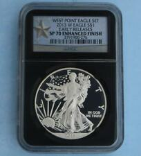 2013 W NGC SP70 Early Release Enhanced Silver Eagle $1, 1 Ounce Fine Silver Coin