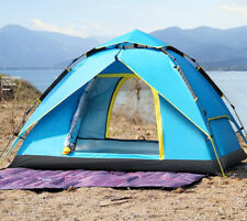 Waterproof 2/3/4 People Automatic Pop Up Tent Double Layer Camping Hiking Tent