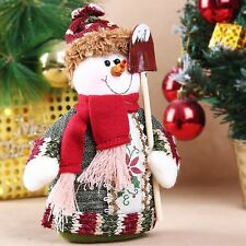 Fashion Christmas Santa Claus Snowman Deer Standing Decoration Indoor Ornament
