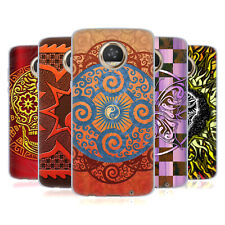 OFFICIAL PETER BARREDA LUMINOUS SPIRIT MANDALAS GEL CASE FOR MOTOROLA PHONES