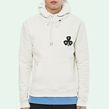 Off-White Spray Hoodie White Size XS S M L XL Mens Apparel New