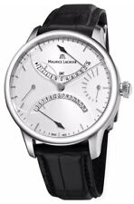 Maurice Lacroix Masterpiece Double Retrograde GMT Mens Watch MP6518-SS001-130