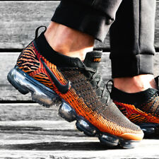 Nike air vapormax flyknit 2.0 Tiger orange Sz 7-13 Mens Shoes jordan AV7973-800