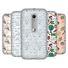 OFFICIAL JULIA BADEEVA ASSORTED PATTERNS 3 SOFT GEL CASE FOR MOTOROLA PHONES 2