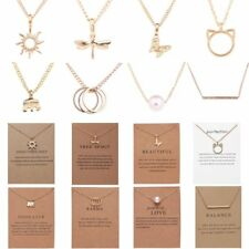 Women Fashion Simple Christmas Pendant Necklace Animal Charm Jewelry Gift Party