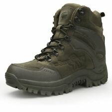 Men's Boots Military Combat Chukka Ankle Tactical Big Size Army Safety Shoes