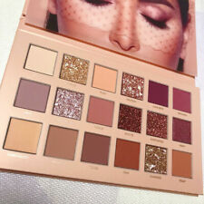 Huda Beauty rose gold textured EyeShadow Palette 18 Eye Shadow Shades 2019 ET