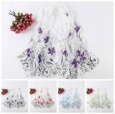 Fashion Women New Multi Color Ladies Scarf Long Chiffon Wrap Shawl Stole Scarves
