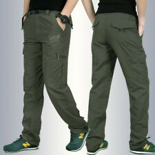 Outdoor Men Work Cargo Tactical Climbing Pant Quick Dry Combat Lightweight Pants