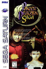 123427 Panzer Dragoon Saga Sega Saturn Decor LAMINATED POSTER FR