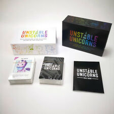 2019 New Funny Cards Game For Adult Unstable Unicorns Base Game playing card