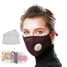Anti Pollution Mouth Pollution proof Washable Respirator Reusable Fast shipping
