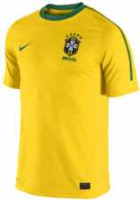 Nike Brazil - Brasil World Cup WC 2010 Official Home Soccer Jersey New Yellow