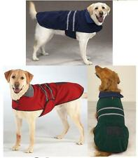 FLEECE REFLECTIVE JACKET Warm Dog Blanket Coat clothes