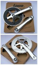 Lasco TRACK and Singlespeed CHAINSET fixed 165 170 single speed fixie crank road