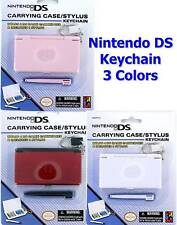 NINTENDO DS Carrying Case + Stylus KEYCHAIN Keyring New