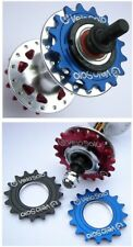 VeloSolo 1/8 CNC Fixed TRACK COG 16 17 18 RED BLUE BLK