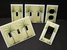 TROPICAL PALM TREE #4   LIGHT SWITCH OR OUTLET COVER