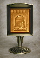 Lithophane Lamp - FRUIT OF THE VINE LAMP Fine Porcelain