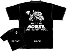 May the Norse Be With You Tshirt Viking Scandinavian