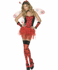 Sexy Halloween Adult Lady Bug Costume w Wings