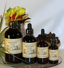 BILBERRY LEAF Tincture Extract  ~diabetes aid 4 sizes