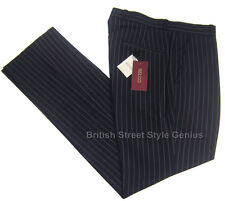 PINSTRIPE TROUSERS by Relco London. Black/white. Classic Mod, Skinhead. BNWT