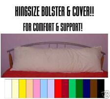 5FT* KING SIZE BED BOLSTER/HUGGABLE BODY PILLOW & COVER