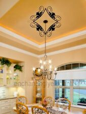 Ceiling Medalion Ornaments Vinyl Decal Stickers Ceiling Light Decor
