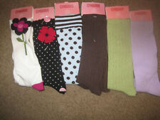 NWT GYMBOREE KNEE SOCKS 3-4 5-7 8+ COWGIRLS POPPY LOVE ALL ABOUT BUTTONS BEST FR