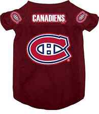 NEW MONTREAL CANADIENS PET DOG MESH HOCKEY JERSEY ALL SIZES LICENSED