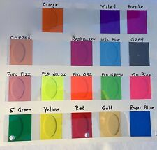 Transparent Vinyl Sheeting, with Adhesive, choose your color and size