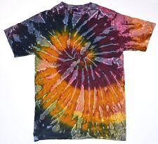 Multicolor Galaxy Tie Dye T-Shirts Size Youth XS to Adult XL. Check Description