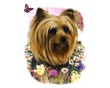YORKSHIRE TERRIER T-Shirt, Short Sleeve, Art by Tamara Burnett , DOG