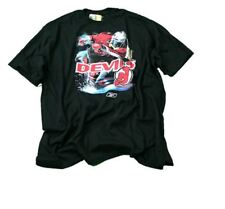 NHL New Jersey Devils Screen Printed Reebok T-Shirt | BLACK | Many Sizes