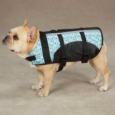 Guardian Gear Pet Saver Dog Life Jacket Vest Blue Printed Polka Dot