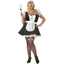 Adult Sexy Fiona French Maid Costume Halloween Plus