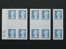 Diamond Jubilee 1st Class Definitive Mint Stamp GUTTER  from Counter Sheets