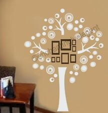 Family Tree Vinyl Decal Wall Sticker Picture Wall Mural Modern Art Play Room